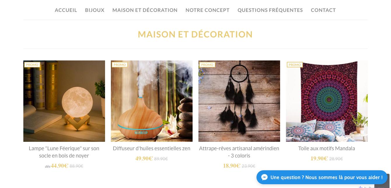 Namaste : e-commerce, graphisme, web