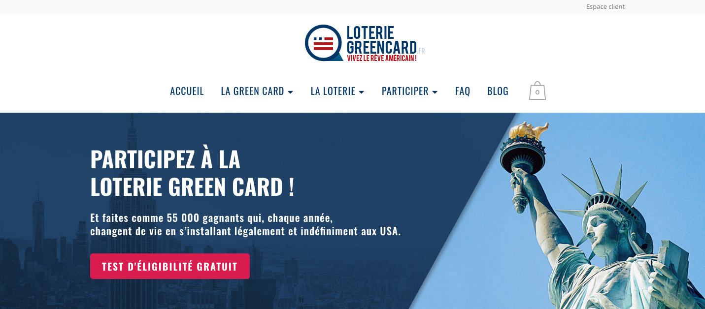 Loterie Greencard : business